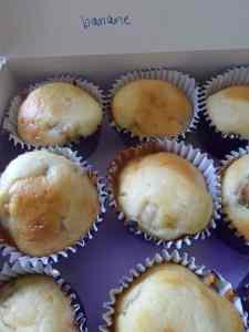 muffin banane rhum