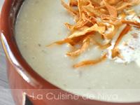 Soupe de panais (et chips de panais)