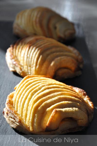 Tartelettes fines aux pommes