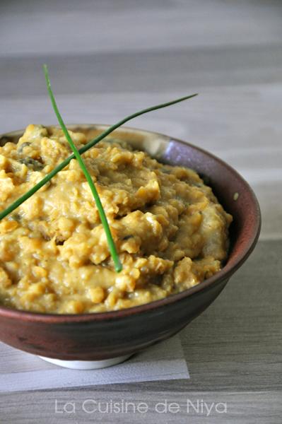 Curry de lentilles corail ou dhal