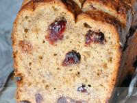 Cake banane cranberry [vegan]