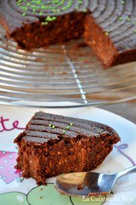 La Cuisine de Niya - Gâteau au chocolat et graines de chia - vegan