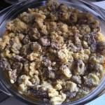 purée de patates douces