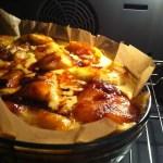 Gâteau gourmand aux pommes caramélisées