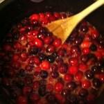 Recette américaine de cranberry relish sur La Cuisine De Steve