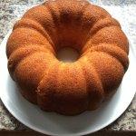 Recette américaine de rum cake sur La cuisine de Steve