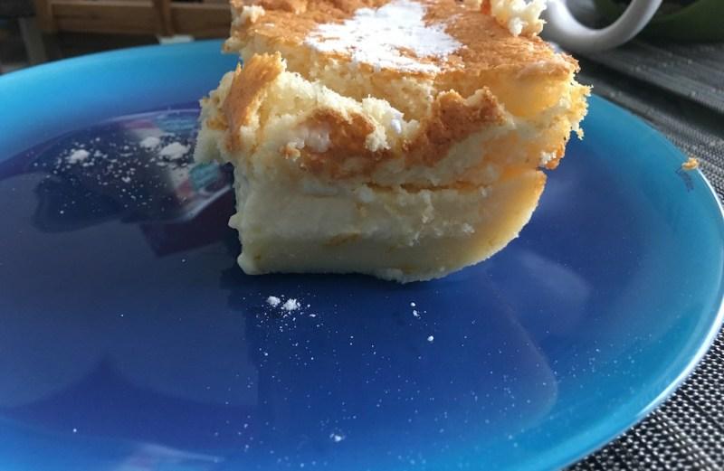 gâteau magique magic cake cuisine steve