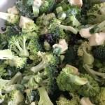 Salade fraîche de brocoli