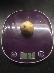 cookies épais aux pépites de chocolat
