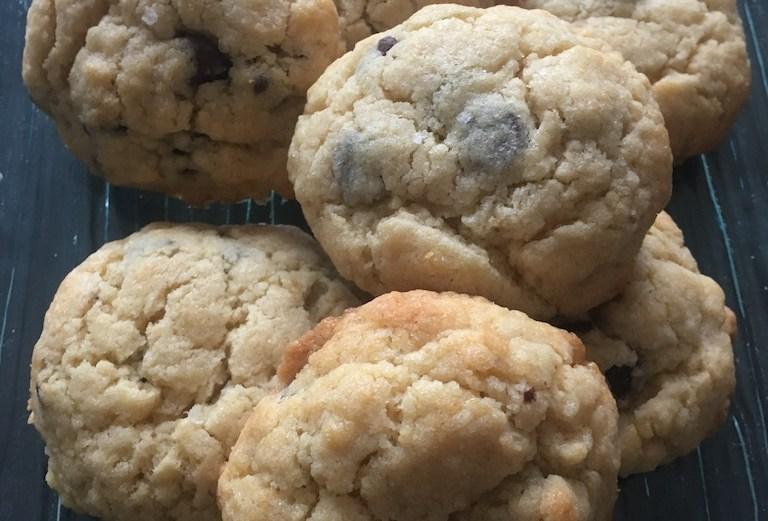 cookies aux pépites de chocolat & fleur de sel