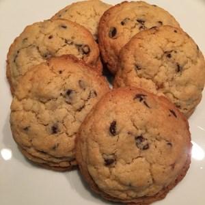 cookies aux pépites de chocolat Valrhona