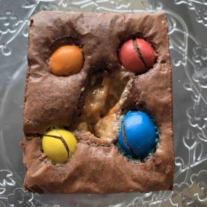 brownie chocolat snickers M&M's