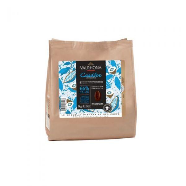 chocolat Caraïbe 66% Valrhona