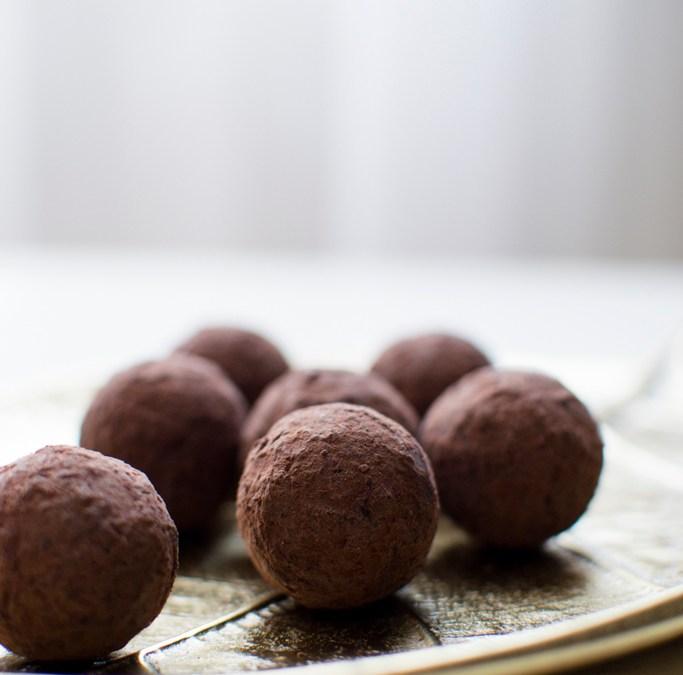 pralinés de niette au chocolat