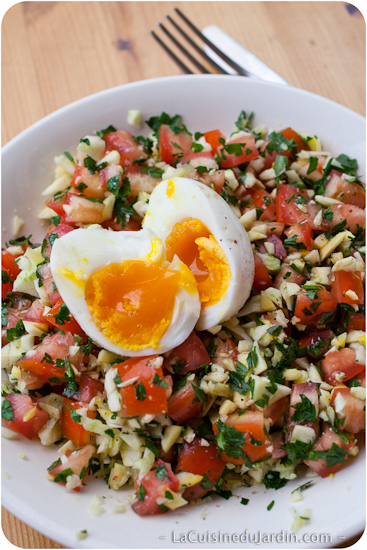 Salades Composee Pour Barbecue : salades, composee, barbecue, Grande, Salade, Cuisine, Jardin