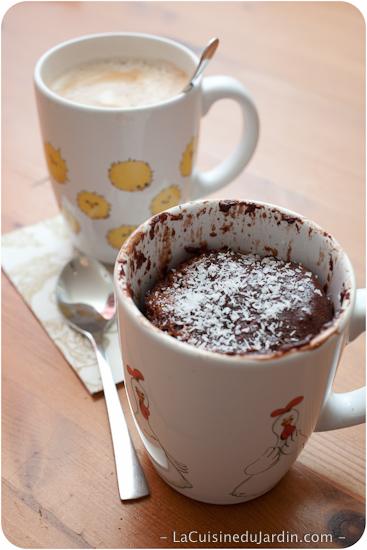 Mug Cake Sans Beurre : beurre, Gâteau, Chocolat, Tasse, Cuisine, Jardin