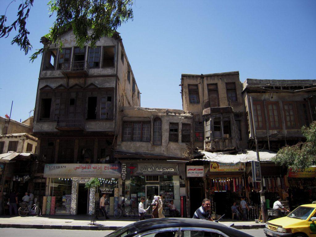 Attention ça penche là - Syrie 2010