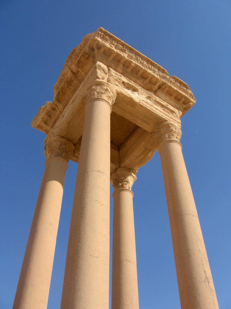 Le Tétrapyle - Syrie 2010