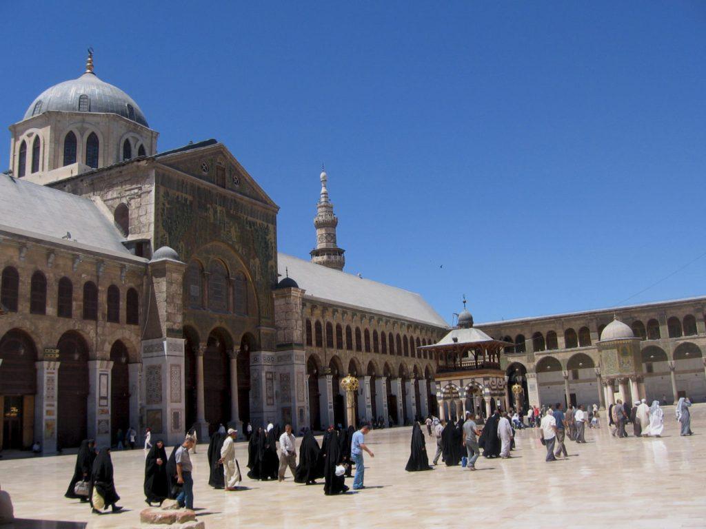 Mosquée des Omeyyades - Syrie 2010