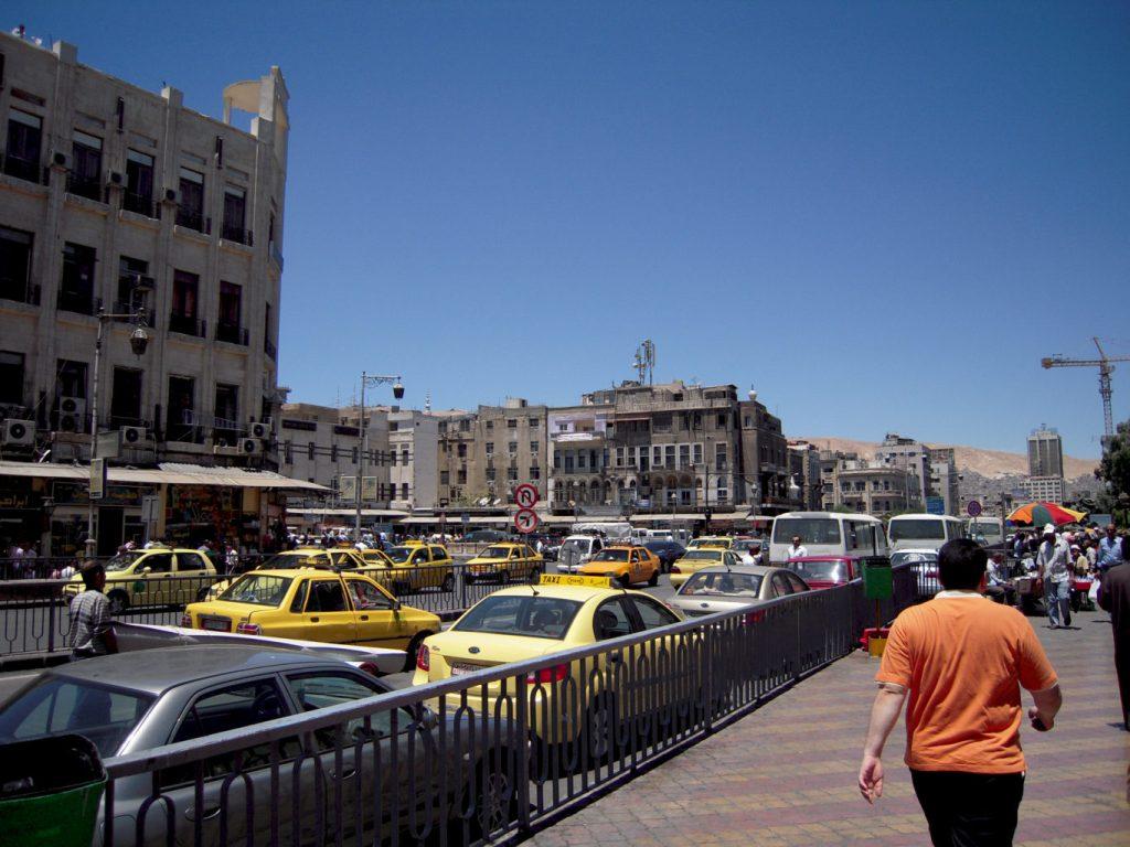 Rues de Damas - Syrie 2010
