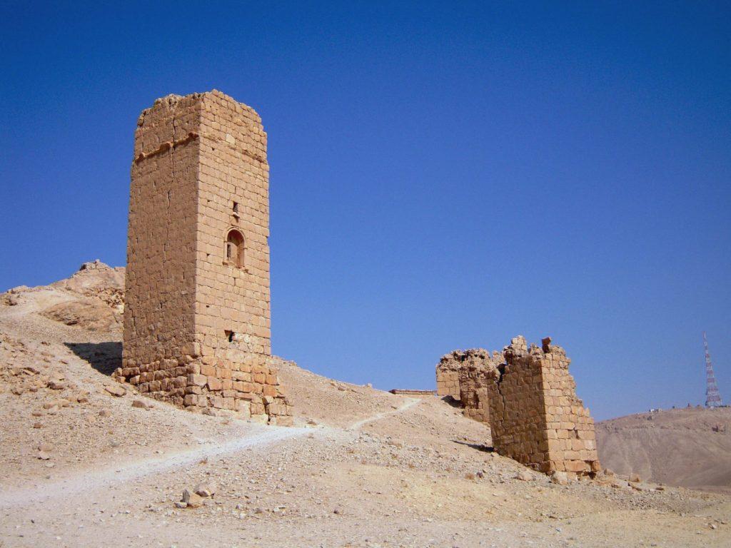 Vallée des tombeaux - Syrie 2010
