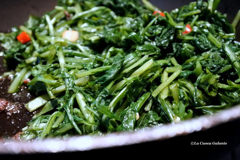 Cicoria ripassata alla romana  La cuoca galante  Food