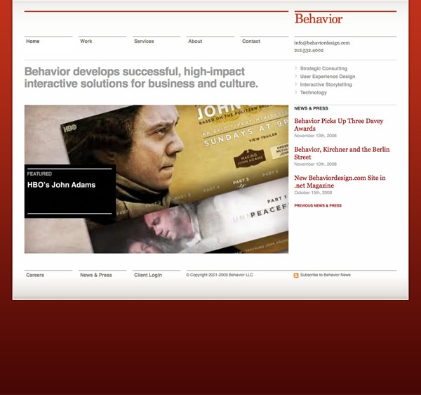 Behavior Design