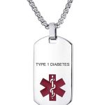 diabetes necklace
