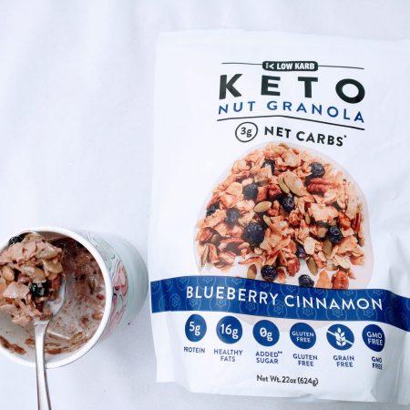 Keto Nut Granola instead of cereral