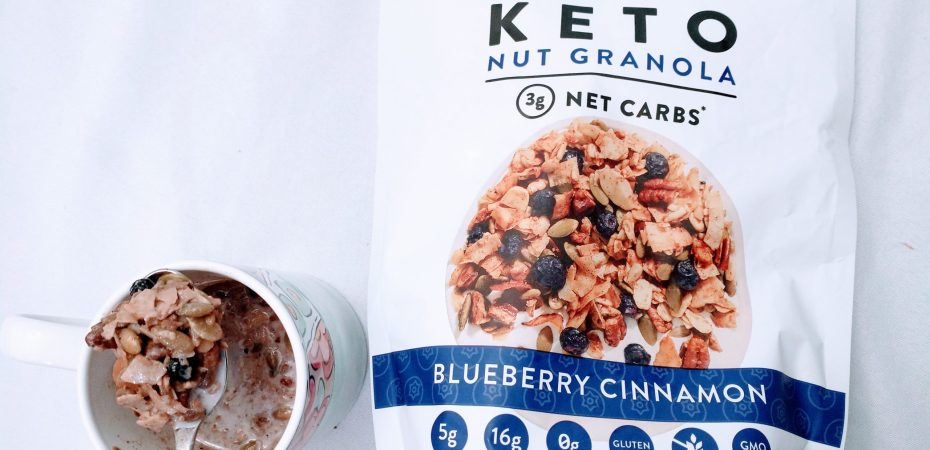 Keto Nut Granola instead of cereral