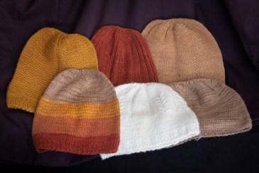 100% Pashmina wool knit caps