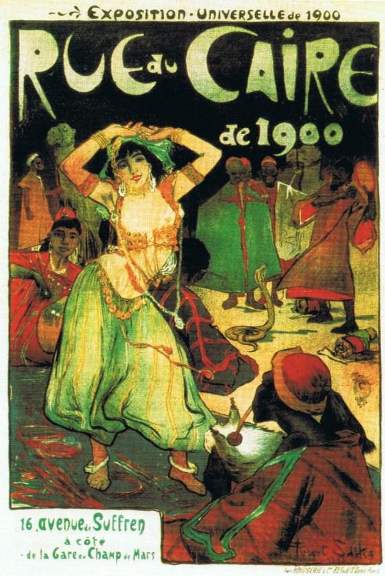 """""""C'est dans les expositions universelles que les danses dites exotiques ont fait leur apparition en Europe."""""""