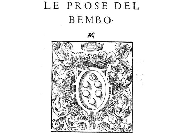 Bembo e la codificazione dell'italiano