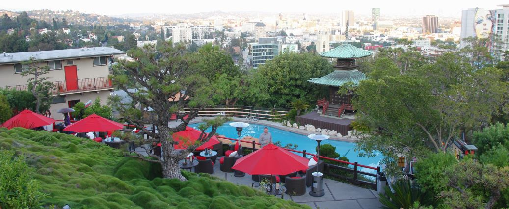 The Pagoda Bar at Yamashiro