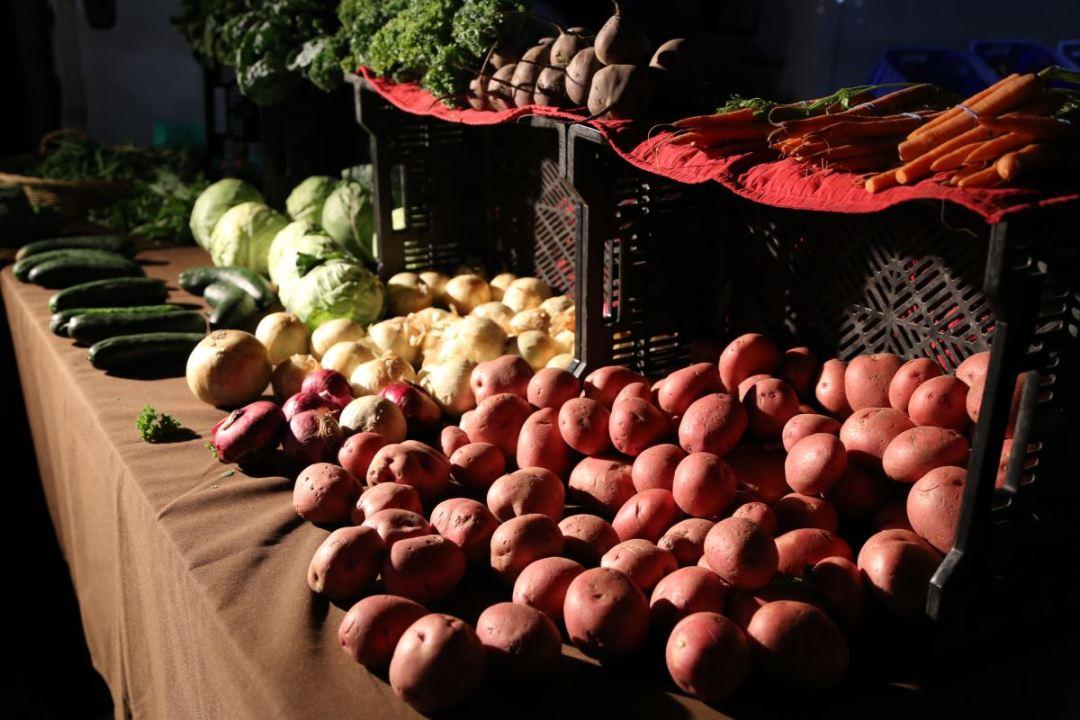 Yamashiro Farmers Market produce