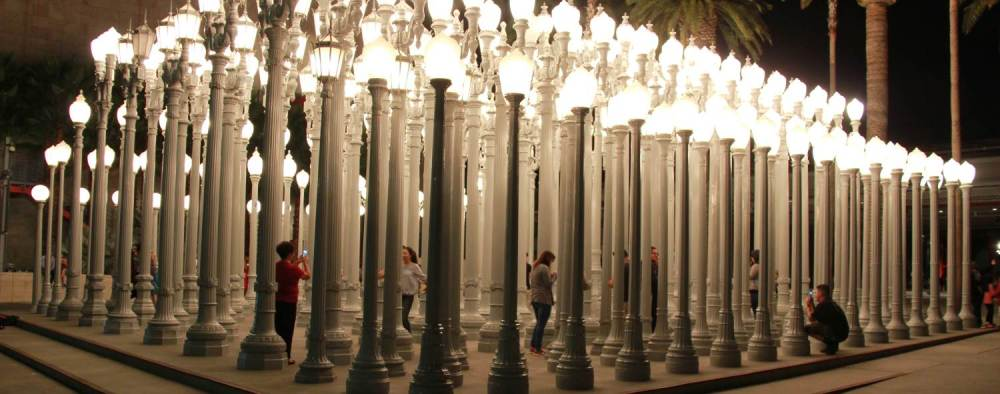 City Lights at LACMA