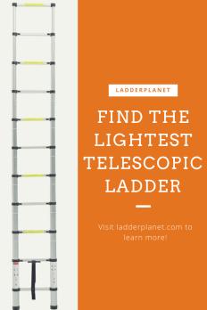 Ultra Lightweight Telescopic Ladders