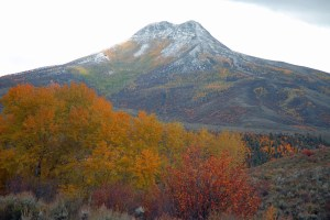 Squaw Mountain in fall