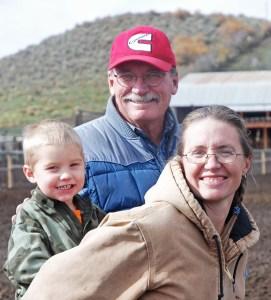Tiarnan, Pat and Meghan