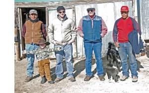 Tim, McCoy, Eamon, Pat, Oscar