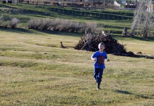 Seamus on the run