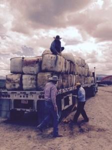 crew on truck