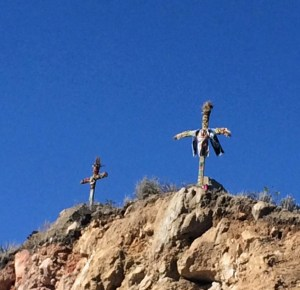 crosses above Cruz del Condor