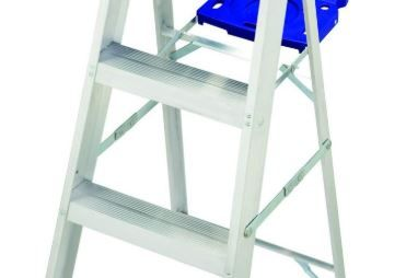 Ladder pinch proof spreader