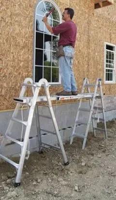 Two-scaffold base