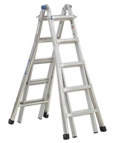 Twin step ladder