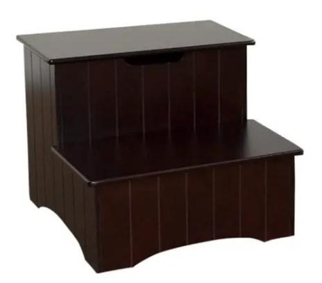 King's Brand Large Cherry step stool