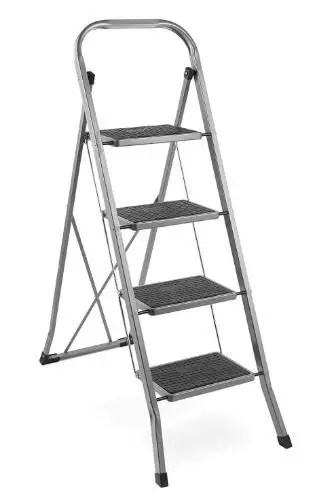 vonhaus steel 4 step stool