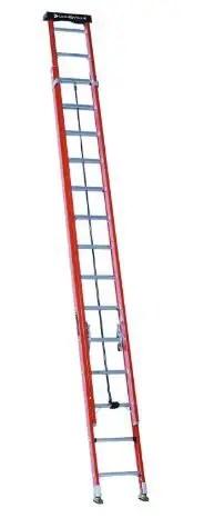 Louisville Ladder 28-Foot Fiberglass Extension Ladder