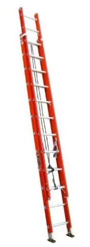 Louisville Ladder FE3224 Fiberglass Extension Ladder